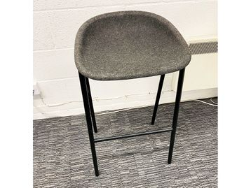 Used DeVorm LJ3 Felt Counter Stools