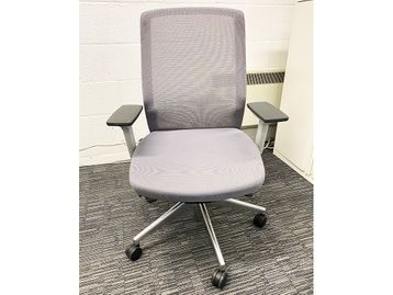 Used Bestuhl J1 White/Grey Operator Chairs