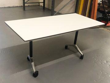 Used 1500mm WIlkhahn White FlipTop Tables