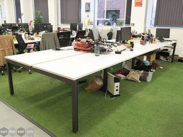 Used 1200mm Herman Miller Sense Bench Desks