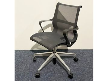 Used Herman Miller Setu Chairs in Graphite