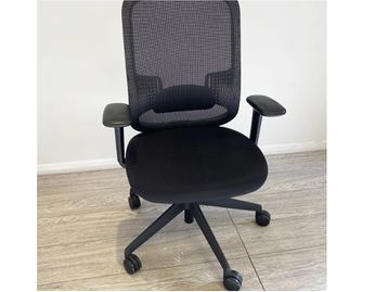 Used Orangebox Do Operator Chairs in Black with White Trim (see additional photos)