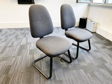 Used comfortable meeting/training chairs.