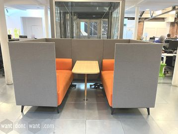 Used High Back Meeting Pod Sofa - Excellent Condition