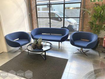 Used 3-piece Reception sofa set