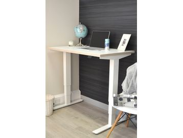 <b>'NEW' </b>Electric Height-Adjustable 'Mini' desks with white legs