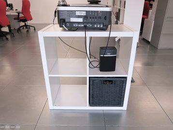 Used IKEA Kallax 4 Compartment Storage Unit