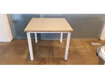 Used square meeting table