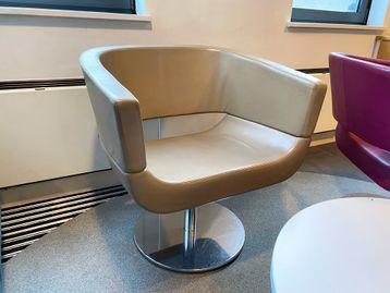 Used Allermuir 'Lola' swivel chairs
