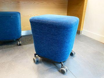Used Allermuir stools on castors