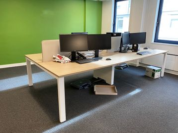 Used Senator/Torasen 4-person bench desks