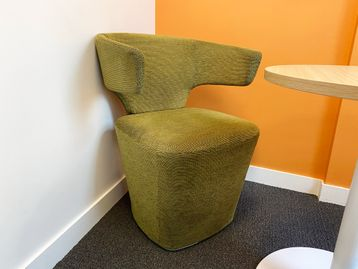 Used contemporary design Allermuir 'Bison' chairs