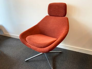 Used Allermuir 'Open' swivel chairs in very good condition