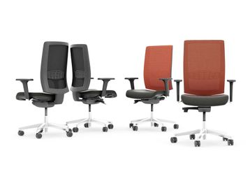 Mesh-Back Fully Adjustable Task Chairs