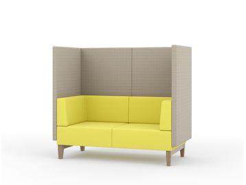 2-Seat sofa booth