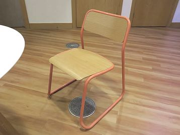Naughtone 'Bounce' chairs in various colours