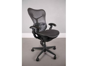 Used Herman Miller Mirra Chairs in Black