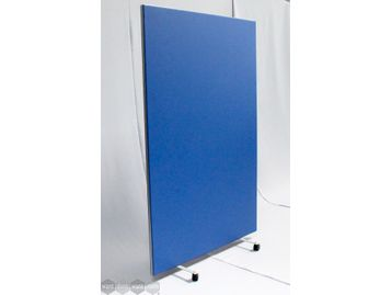 Post Lockdown Tall Mobile Screens upholstered in anti-bacterial vinyl. Create walkways, quickly section off areas for meetings, safety etc.