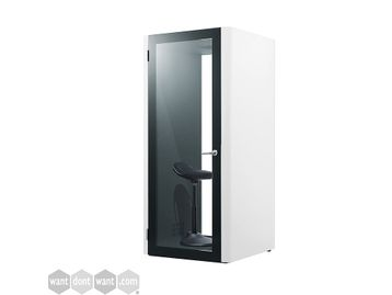 Brand new contemporary design phone booths with high acoustic rating - Perfect for Zoom Meetings!