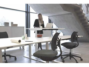 Sit Stand electric height-adjustable desks - we're all using them at Want Dont Want. We are carrying a limited stock too - click on this photo