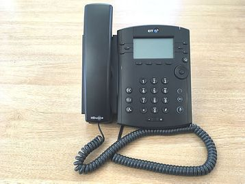 BT branded Polycom VoIP phones in very good condition. All available - now price is for the lot.