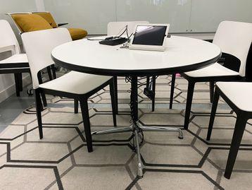 Used Vitra Charles Eames Segmented Circular Table