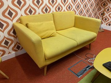Used Fabric Sofa - in need of a serious clean!