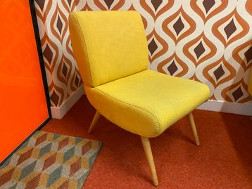Used Fabric Lounge Chairs
