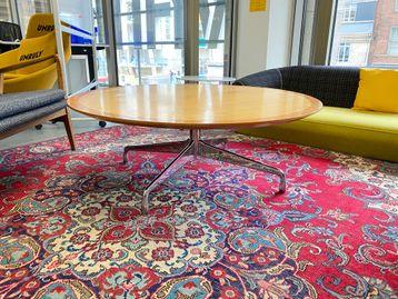 Used 1200mm Circular Coffee Table - Damaged Top