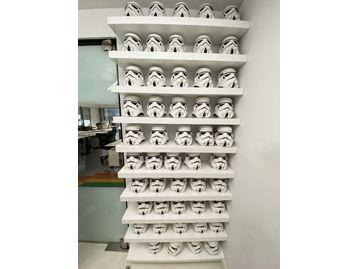 Used Star Wars Stormtrooper Office Ceramic Cookie Jars