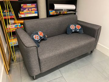 Used Fabric Sofa
