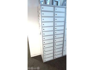 Personal Lap Top Lockers each with 13 x doors.