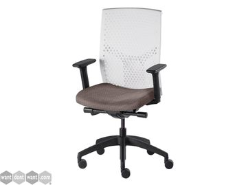 Brand New Chair with perforated flexible plastic back