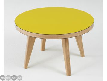 Ex Display James Burleigh 'Jura' Circular Coffee Table