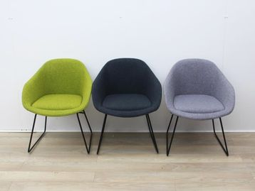 Used Reception Chairs In Mixed Colours