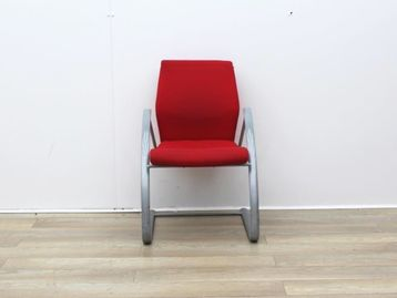 Used Verco Red Meeting Chair
