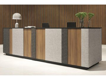 Brand New Reception Desks with Vertical Panels - Many Configurations Possible