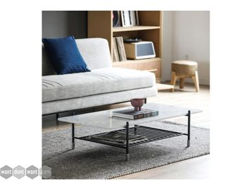 Brand New Modern Marble Top Coffee Table