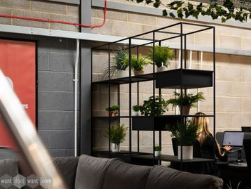 Brand New Shelving Unit with Interchangeable Planters