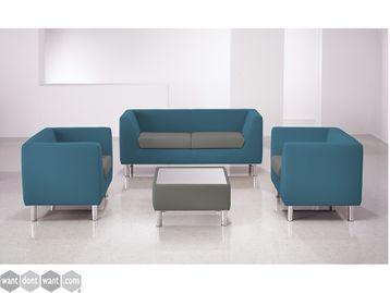 Brand New Contemporary Sofas on Chunky Tubular Feet