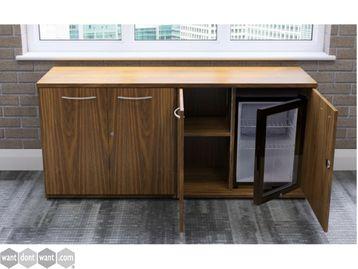 Brand New 4 Door Credenza with Inbuilt Fridge