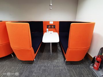 Used Orangebox Cwtch Sofa Module Booth