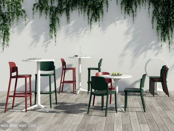 Brand New Vintage Retro Style Cafe Chairs