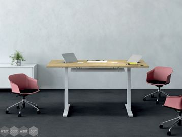 Brand New 2000mm Height Adjustable Meeting Table