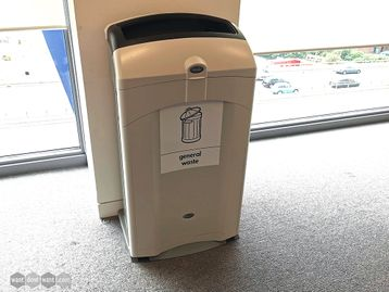 Used Nexus 100 General Waste Recycling Bins