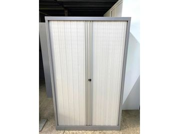 Used Bisley Tall Tambour Cupboards