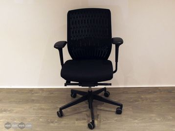 Used Senator Evolve Black Operator Chairs